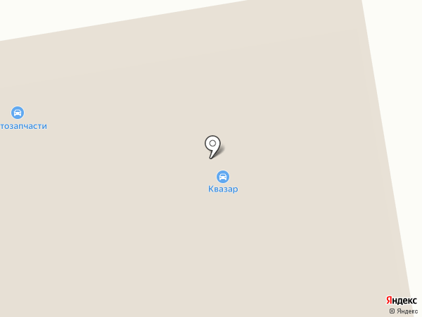 Аскания на карте Тамбова