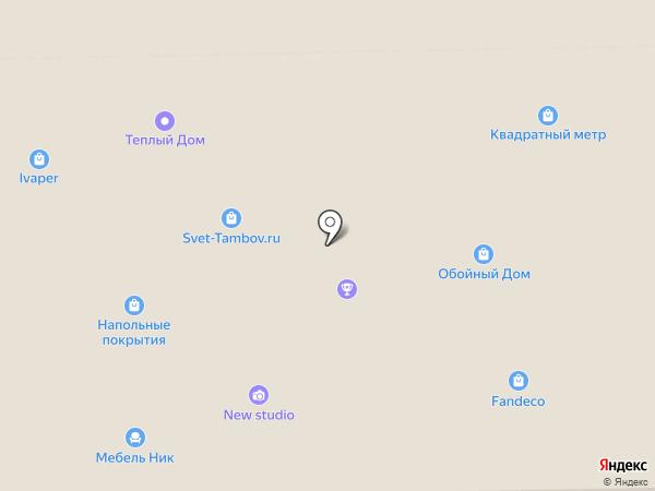 X-LINE на карте Тамбова
