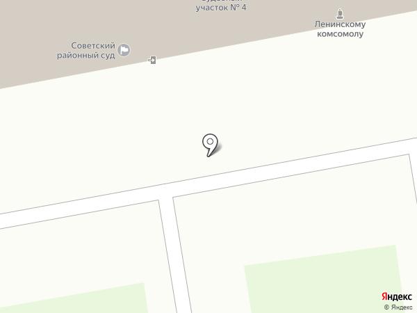 Мировые судьи Ленинского района г. Тамбова на карте Тамбова