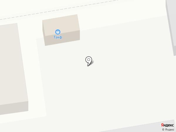 Объединенная кондитерская сеть на карте Тамбова