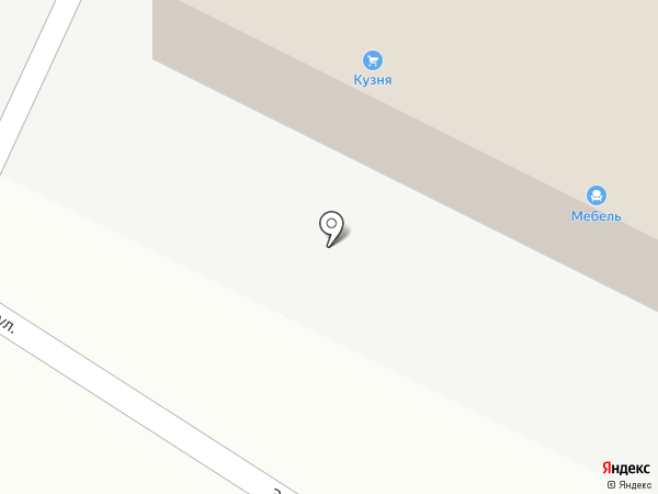 Спрут на карте Тамбова