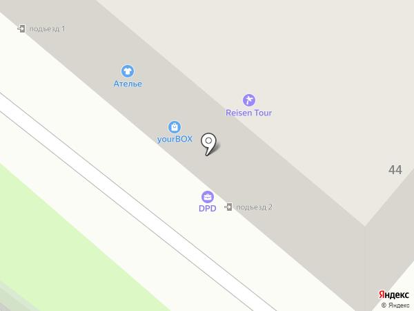 Евросеть-Ритейл на карте Тамбова