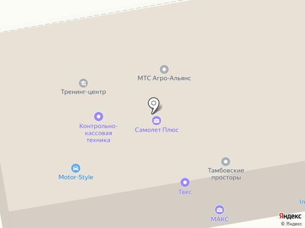 Банкомат, Русфинанс банк на карте Тамбова