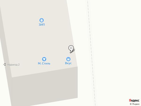 Симпринт на карте Тамбова