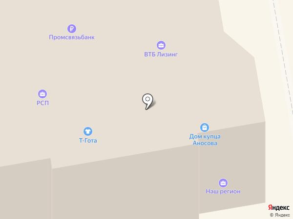 Бижу на карте Тамбова