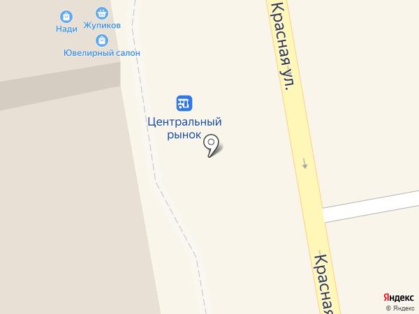 Магазин колбасных и кондитерских изделий на карте Тамбова