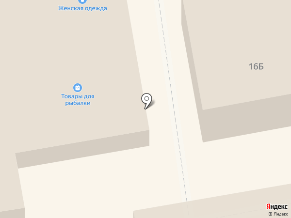 Обувной магазин на карте Тамбова