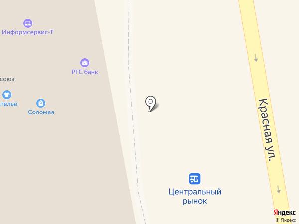 Тамбовский областной союз потребительских обществ на карте Тамбова