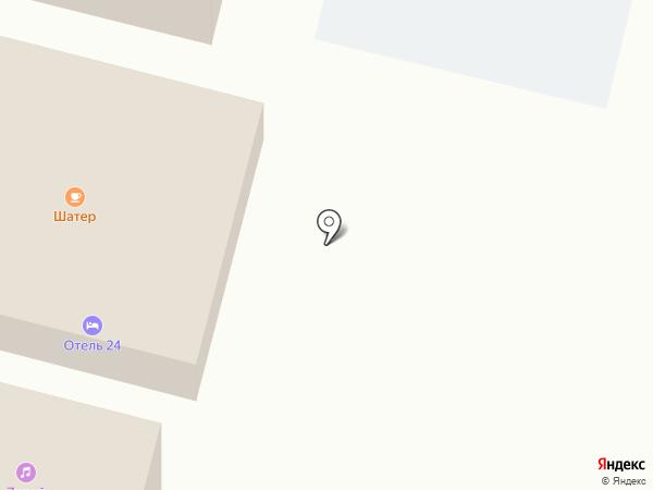 Отель на карте Строителя