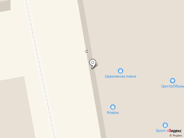 Магазин электротоваров на карте Тамбова