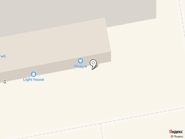Модум на карте Тамбова