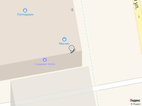 Блик на карте Тамбова