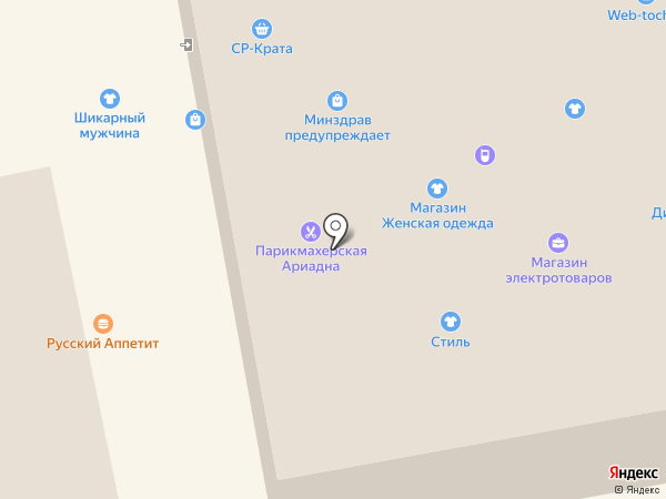 VM Мебель на карте Тамбова