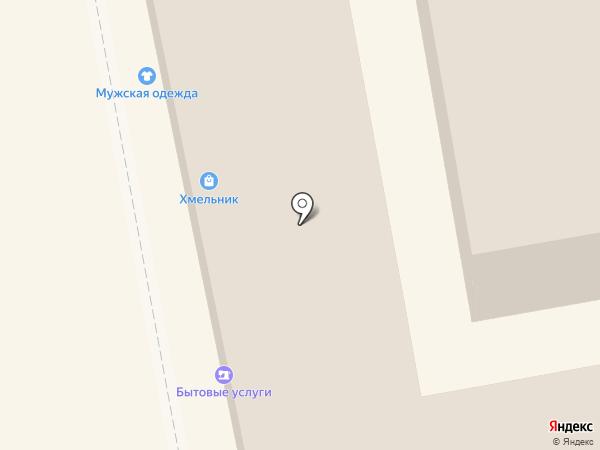 Монастырская лавка на карте Тамбова