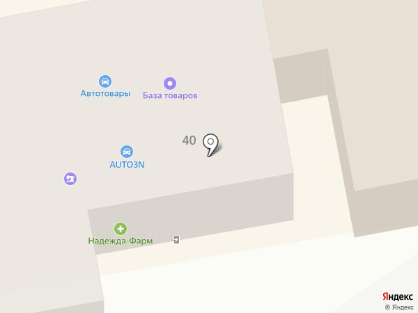 АВС на карте Тамбова