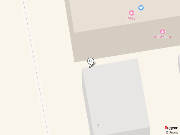 Millenium на карте Тамбова