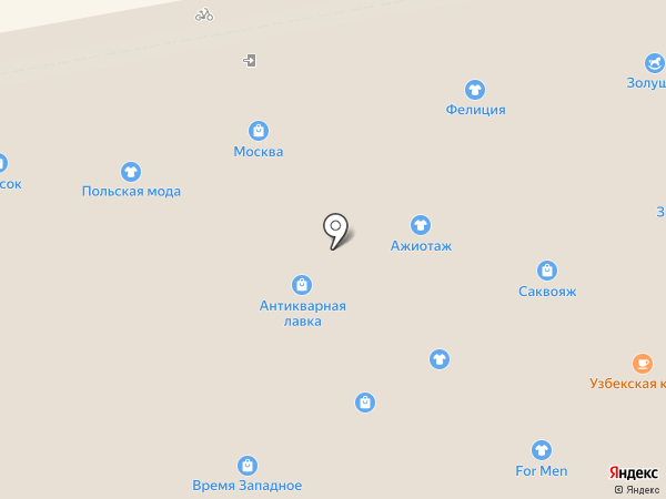 Лана на карте Тамбова