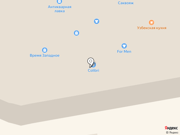 Оптика на карте Тамбова