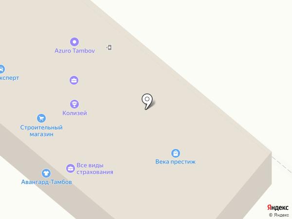 Магазин автозапчастей для Волги и Газель на карте Тамбова