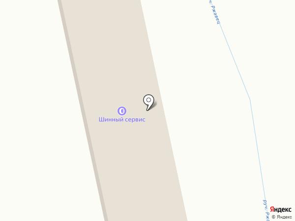 Грузовая шиномонтажная мастерская на карте Бокино