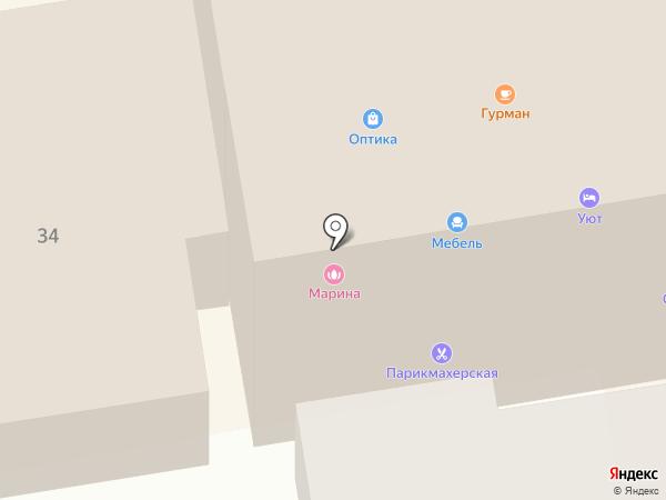 Салон мебели и техники для кухни на карте Тамбова
