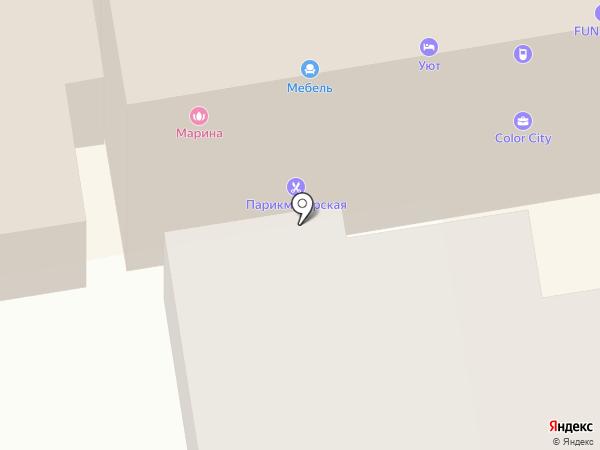 Оптика и медтовары на карте Тамбова