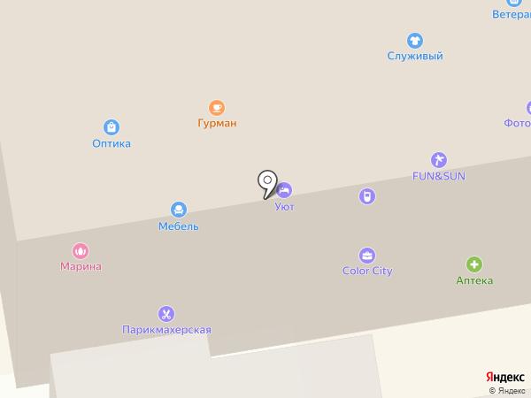 Gala-tour на карте Тамбова