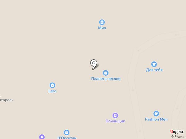 А-Элита на карте Тамбова