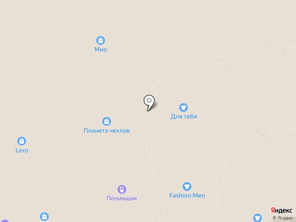 МИО на карте Тамбова