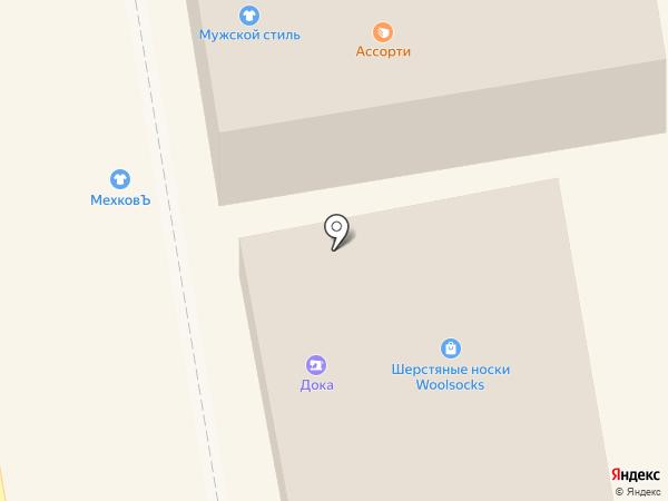 Велес на карте Тамбова