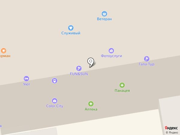 Пионер на карте Тамбова