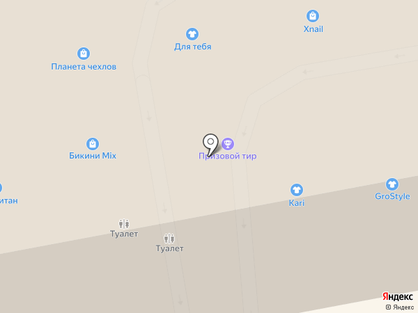 Кот Подаркин на карте Тамбова