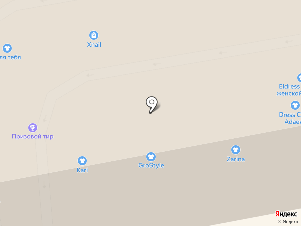 XNAIL на карте Тамбова