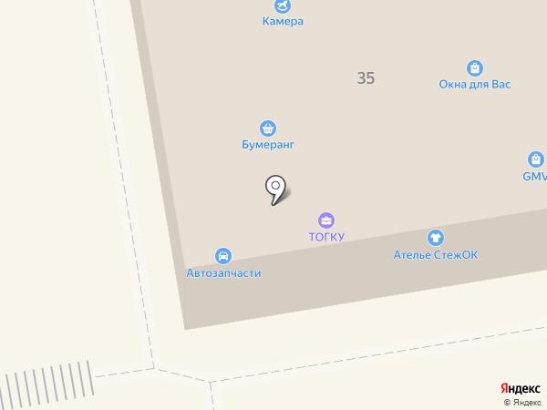 ФЛЕШ на карте Тамбова