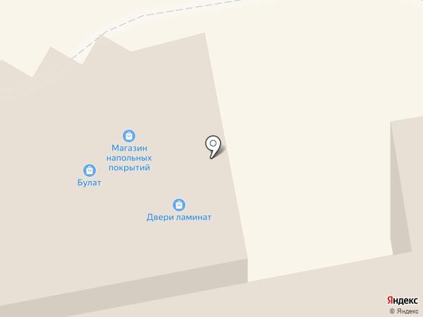 Булат-Двери на карте Тамбова