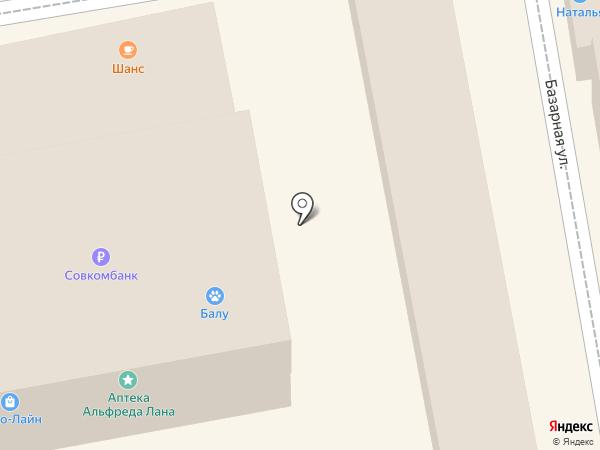 Магазин косметики на карте Тамбова