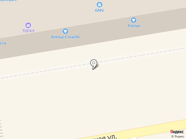 Стежок на карте Тамбова