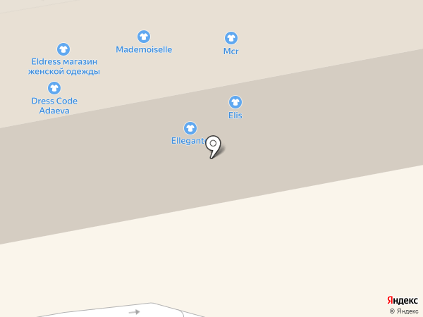 Mademoiselle на карте Тамбова