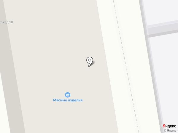 Элонж на карте Тамбова