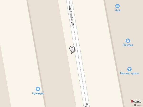 Магазин нижнего белья на карте Тамбова