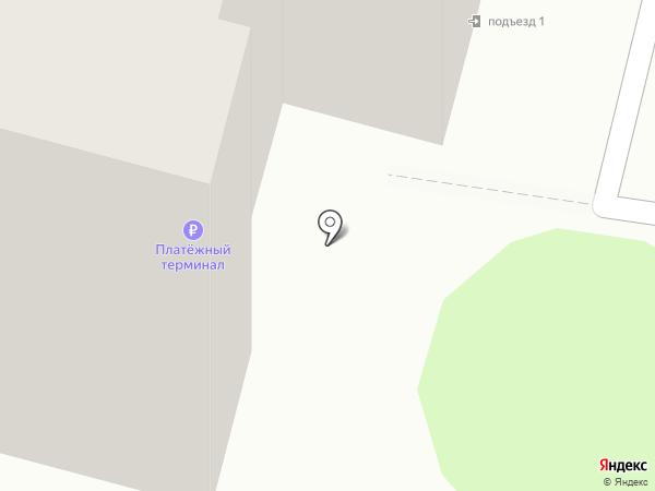 Парикмахерская на ул. Южный микрорайон на карте Строителя