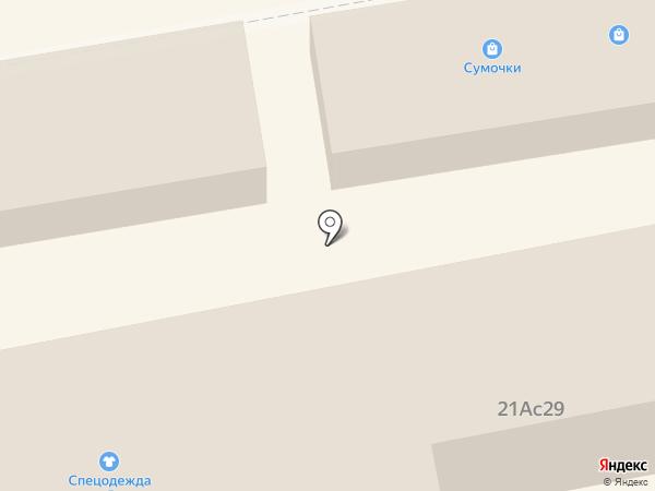 Магазин сумок на карте Тамбова