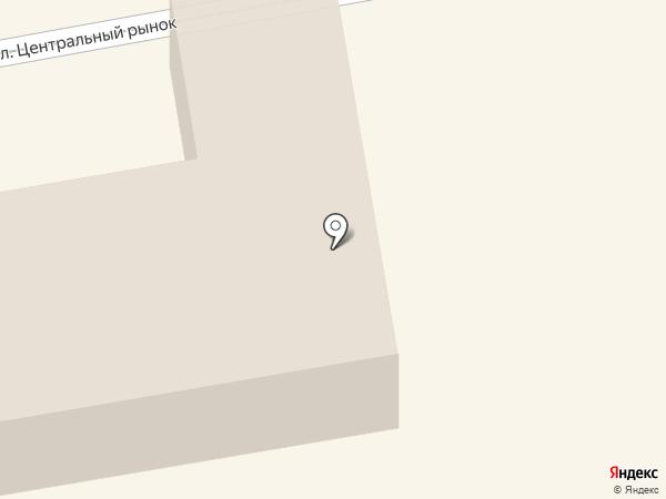 Восточное на карте Тамбова
