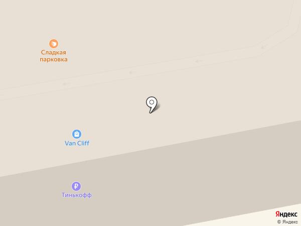 Калина на карте Тамбова