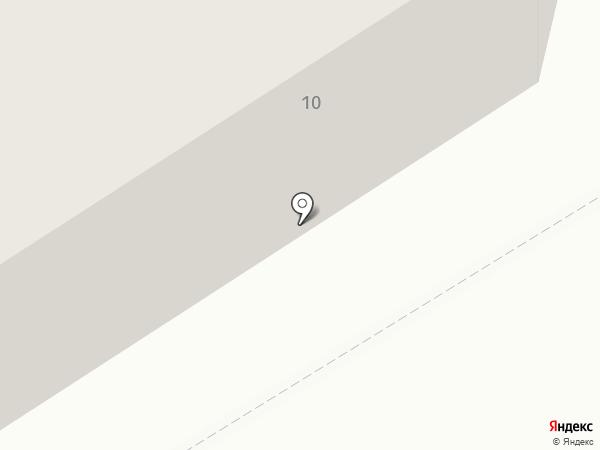 Магнит на карте Строителя
