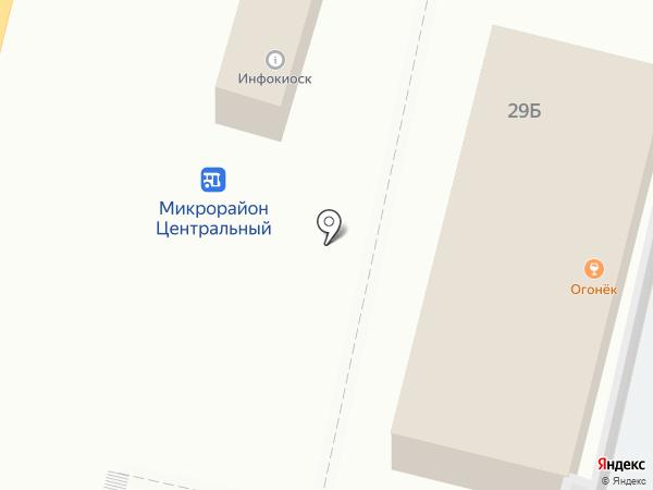 Киоск печатной продукции на карте Строителя