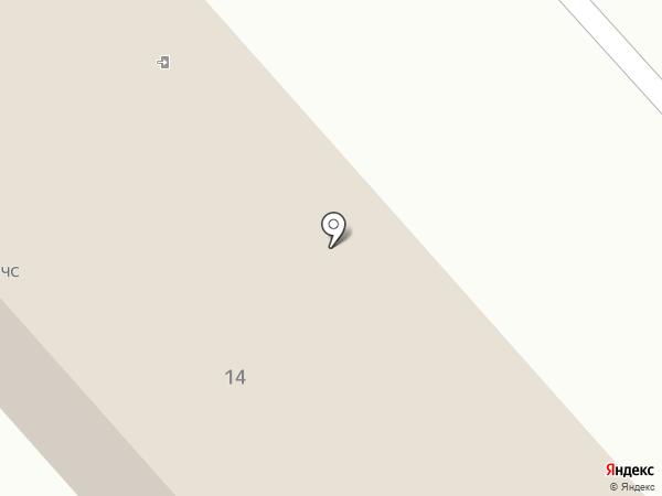 Главное Управление МЧС России по Тамбовской области на карте Тамбова