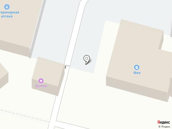 Автостоянка на карте Строителя