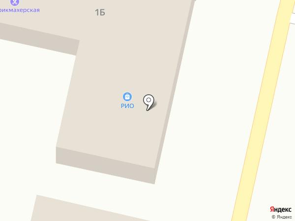 Продовольственный магазин на карте Строителя