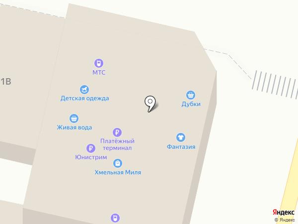 МТС на карте Строителя
